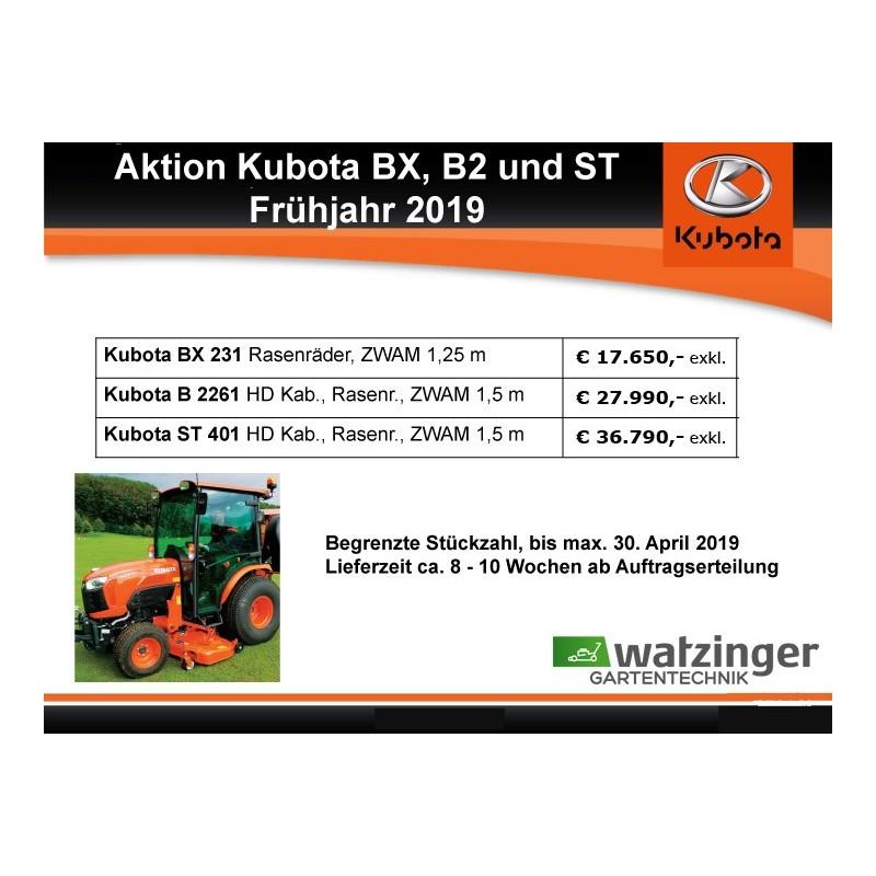 Kubota BX 231 HD