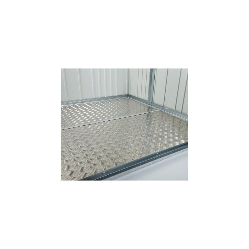 Alu-Bodenplatte für MiniGarage